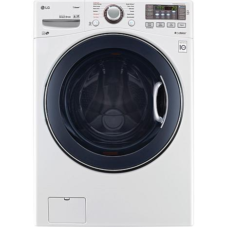 4.5 Cu. Ft. Front Load Washer with TurboWash - White