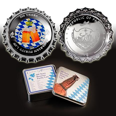 500th Anniversary Bavarian Purity Law Silver Coin