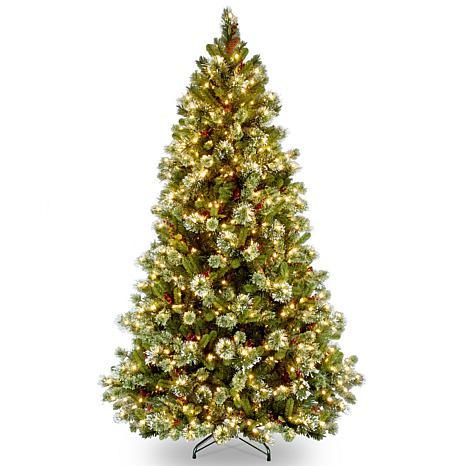 7-1/2' Wintry Pine Medium Tree w/Lights
