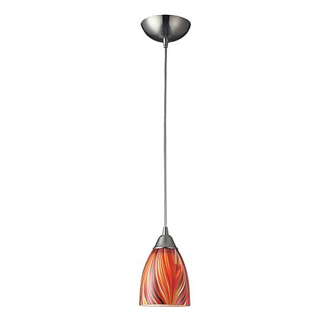 "8"" Arco Baleno Multi-Colored Pendant"
