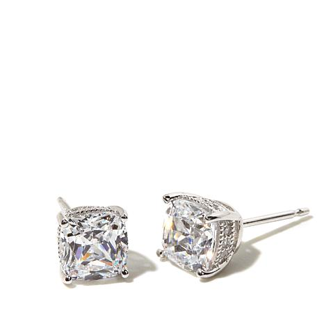 Absolute™ 2.12ctw Cushion-Cut and Round CZ Studs