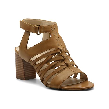 Adrienne Vittadini Pense City Leather Sandal