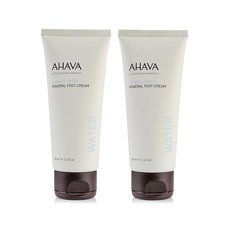 AHAVA Deadsea Water Mineral Foot Cream Duo