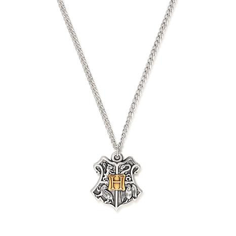 Alex and Ani Harry Potter Hogwarts Two-Tone Necklace