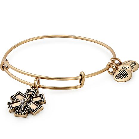 Alex and Ani Medic Professional Charm Bangle Bracelet