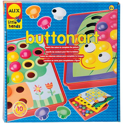 ALEX Toys Button Art Kit