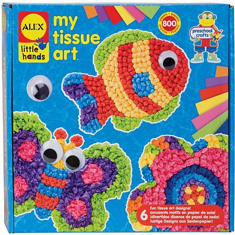 ALEX Toys Little Hands My Tissue Art Kit