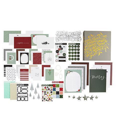 Ali Edwards December Daily® Album with Joyful Paper Kit