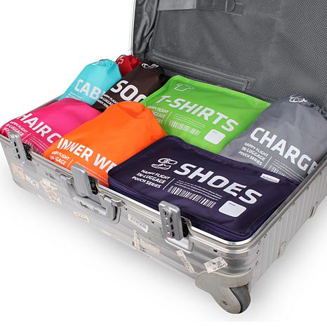 Alife™ Design Happy Flight In-Luggage T-Shirt Cube