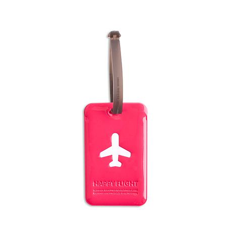 Alife Design Happy Flight Squared Plane Luggage Tag