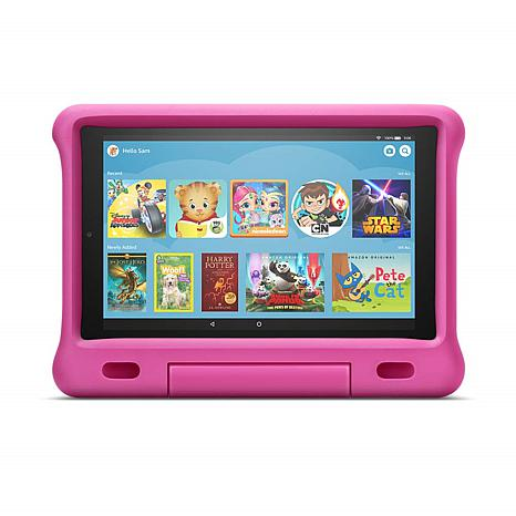 """Amazon Fire 10"""" Tablet Kids Edition in Pink"""