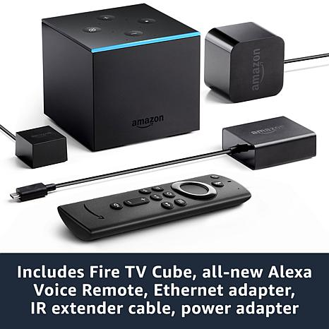 Fire TV Stick with all-new Alexa Voice Remote bundle includes Ethernet Adapter and 2-Year Protection Plan