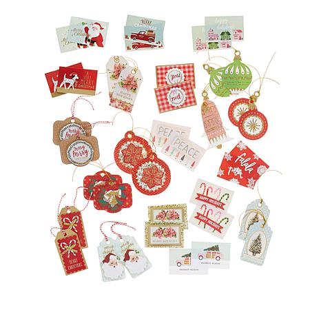 American Crafts Christmas Gift Tags and Cards Bundle