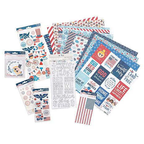 American Crafts Land That I Love Paper Kit