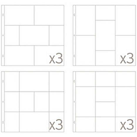 American crafts project life collection 10070518 hsn for American crafts page protectors 8x8