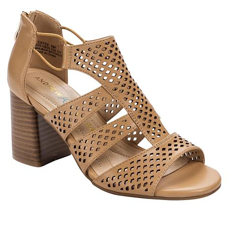 a5ad917df29 Andrew Geller Estee Block-Heel Dress Sandal - 8915114