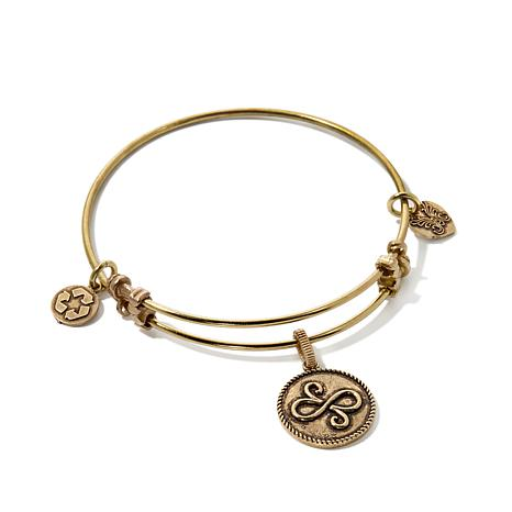 Angelica Best Friends Charm Slide-Clasp Bangle Bracelet