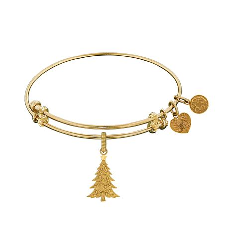 Angelica Christmas Tree Dangle Wire Expansion Bracelet