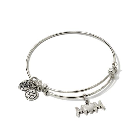 for silver ball bangle stamped bracelet bangles brand with pandora style clasp sterling charm clip logo item european suitable