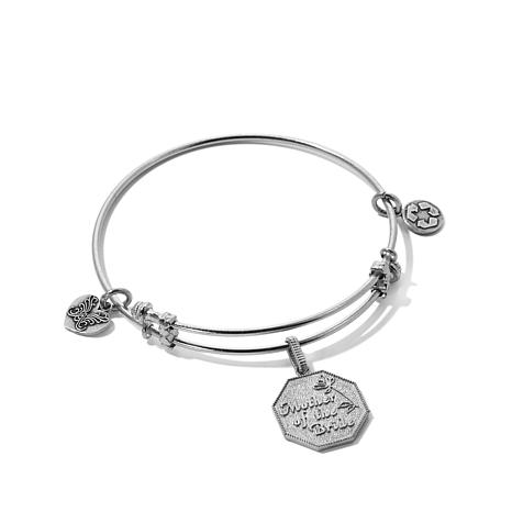 Angelica Mother Of The Bride Charm Bangle Bracelet