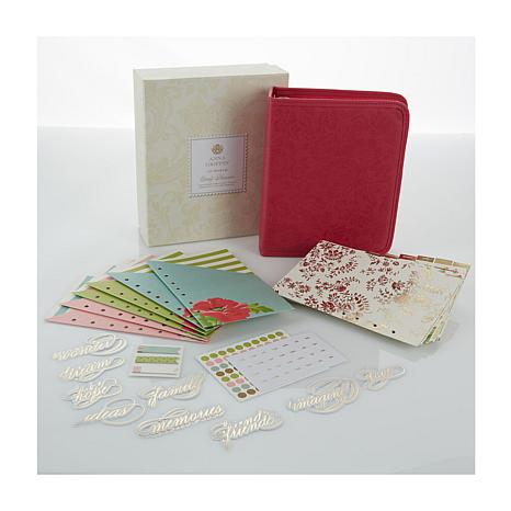 Anna Griffin® 18-month Planner with Accessories