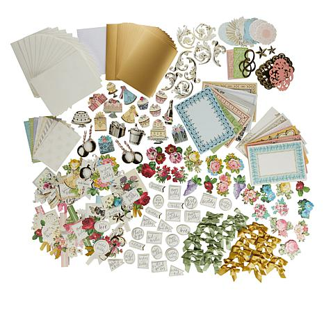 Anna Griffin® Big Birthday Card Making Boxed Card Kit