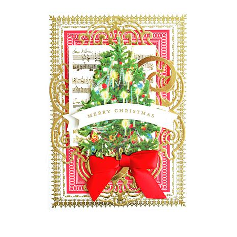 Anna griffin christmas collage card making kit 8715158 hsn m4hsunfo