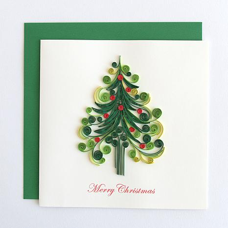 anna griffin christmas quilling card kit 8831238 hsn