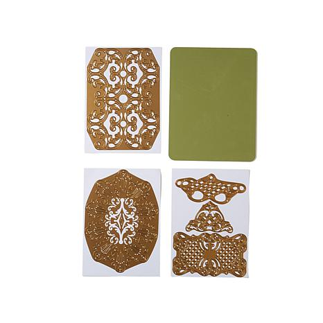 Anna Griffin® Cut & Emboss Die Set - Fretwork #2