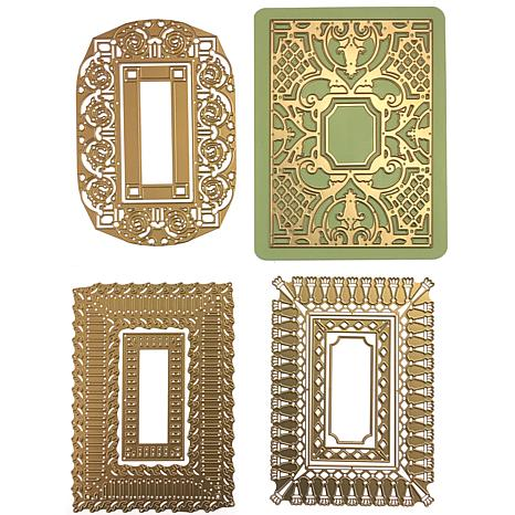 Anna Griffin® Cuttlebug® Beribboned Frame Dies Set