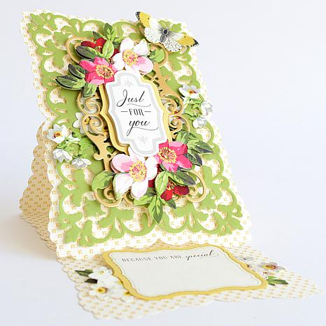 Anna Griffin® Elegant Easels Card Making Kit   8744751 | HSN