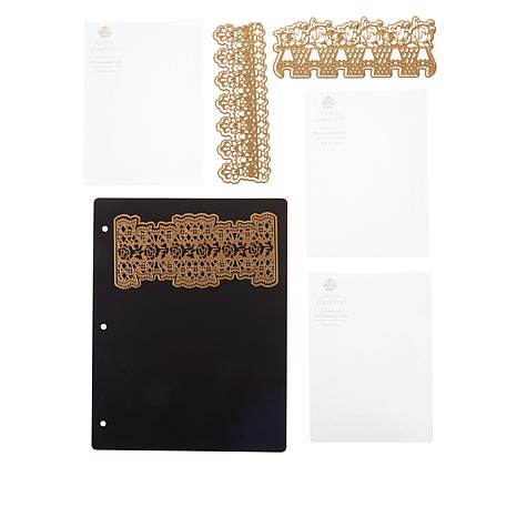 Anna Griffin® Empress 3D Lace Embossing Folders and Dies
