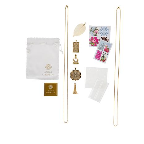 Anna Griffin® Halcraft DIY Jewelry Kit 2 Necklaces