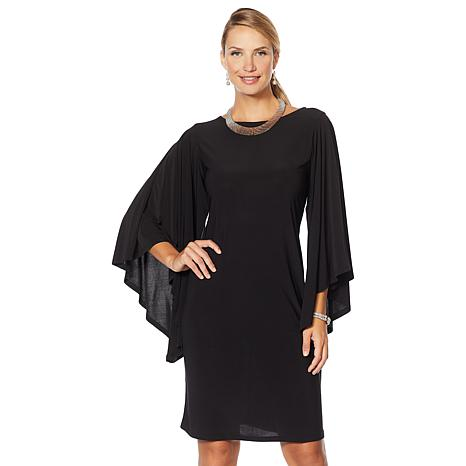 """Antthony """"Captivating Collection"""" Volume Sleeve Shift Dress"""