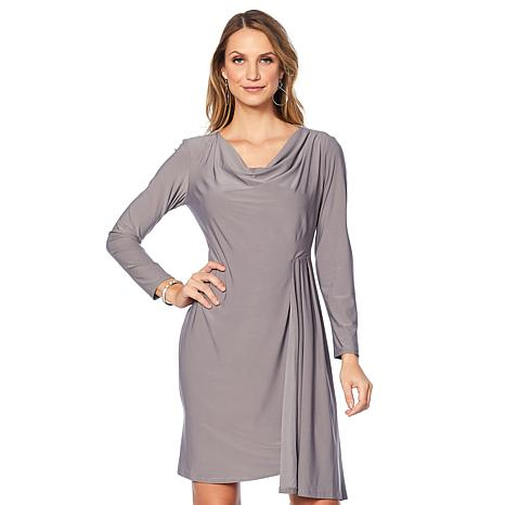 "Antthony ""Diamond Touch"" Long-Sleeve  Dress"