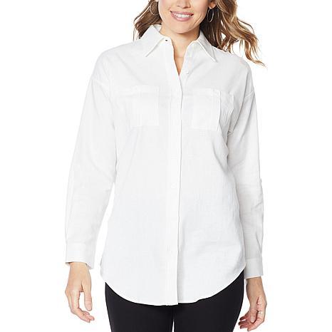 Antthony Linen-Blend Button-Up Shirt