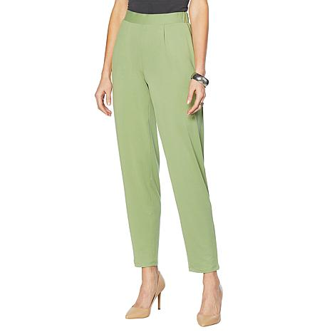 "Antthony ""Luscious Knit"" Flat-Front Harem Pant"