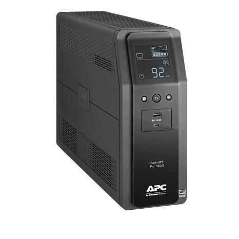 APC Back-UPS 1000VA/600W Battery Backup + Surge Protector