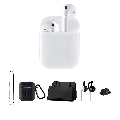 Apple Airpods 2nd Gen Earbuds Charging Case With Accessories 1428735 Hsn