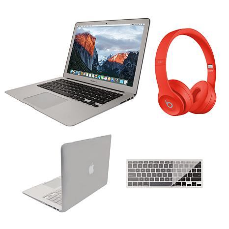"""Apple MacBook Air 13"""" 128GB with Beats Solo3 and Clip Case"""