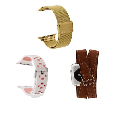 Apple Watch Replacement Band Bundle - Women's Brown