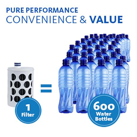 071159dc8f Aquasana Clean Water Bottle with 2 Filters - 8500631 | HSN