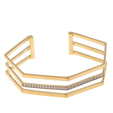 Argent by Paige Cara 3-Row Cuff Bracelet