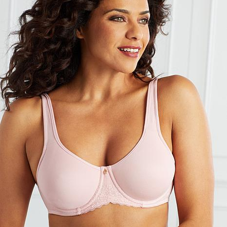 Aria Heavenly Soft Soft-Touch Lined Bra - Pink