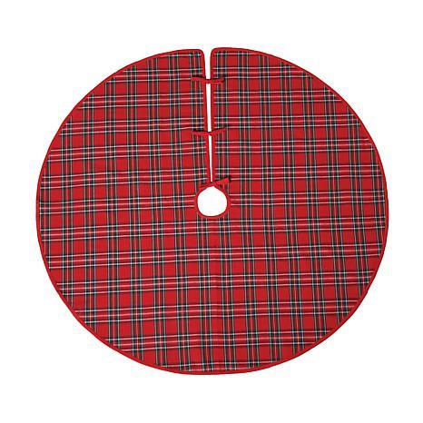 Arlington Plaid Tree Skirt