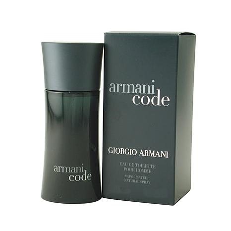 Armani Black Code - Eau De Toilette Spray 2.5 Oz