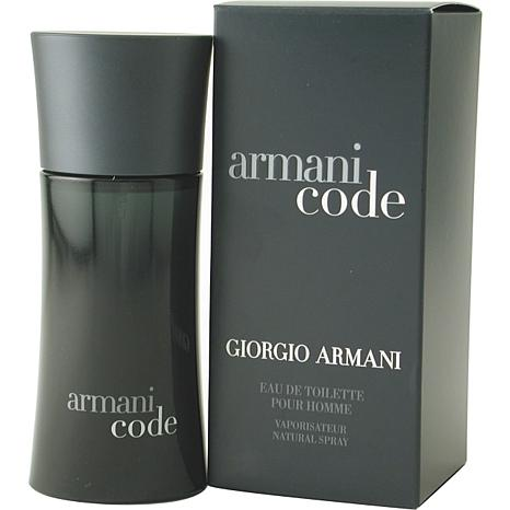 ebee0d9033ef Armani Code by Giorgio Armani EDT Spray 4.2 oz for Men - 7679827   HSN