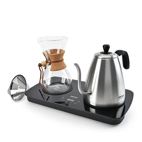 Aroma 4-Cup Digital Pour Over Coffee System