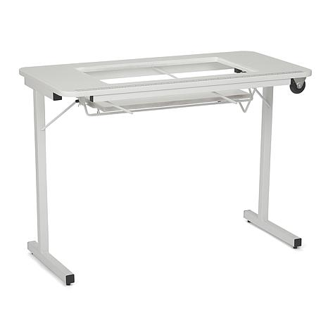 grande sewing and sullivans products den table portable portablesewingtable desk craft foldable