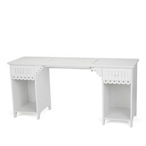 Arrow Olivia Sewing Table - White